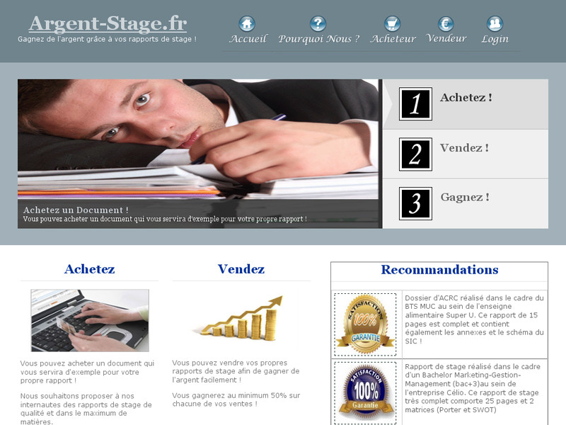 Argent-Stage