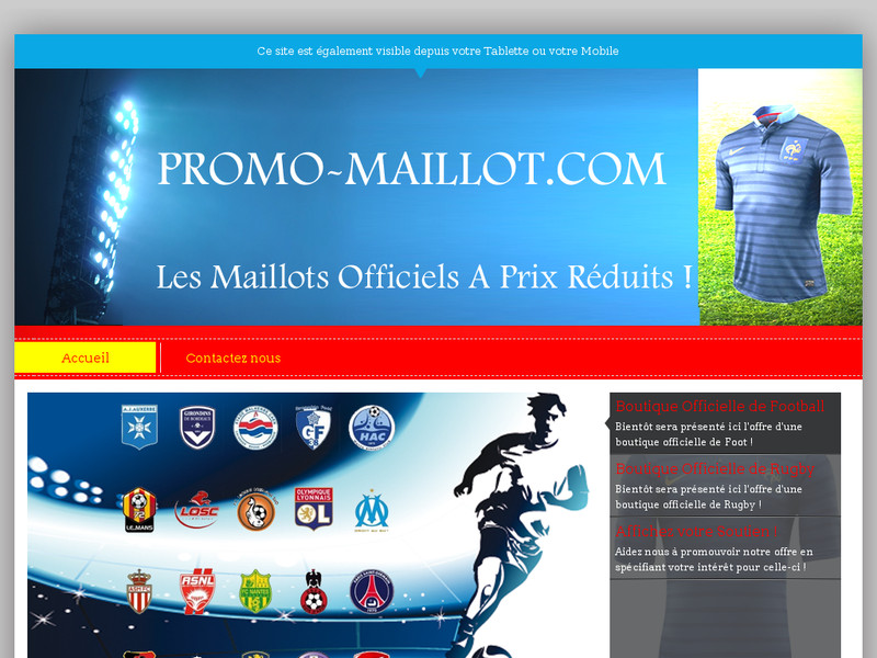 Promo Maillot
